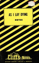 As I Lay Dying (Cliffs Notes) [Paperback] C. K. Hillegass (Author)  - $3.95