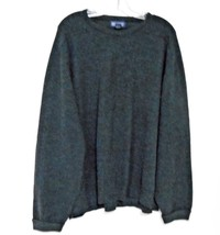 Lands' End Size L 46-48 Charcoal Gray Round Neck Pullover Long Sleeve Sw... - $13.99
