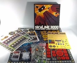 New Skyline 3000 Board Game Alan R Moon Aaron W... - $29.69