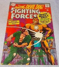 DC Comic Book Our Fighting Forces, Devil Dog No 98 1966 FN/VF - $7.95