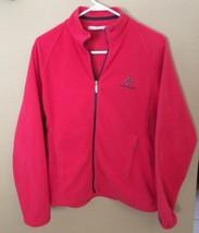 Nike Golf Fit Therma Women's sz M Pink Long Sleeve Full Zip Sweater Jacket - $24.74