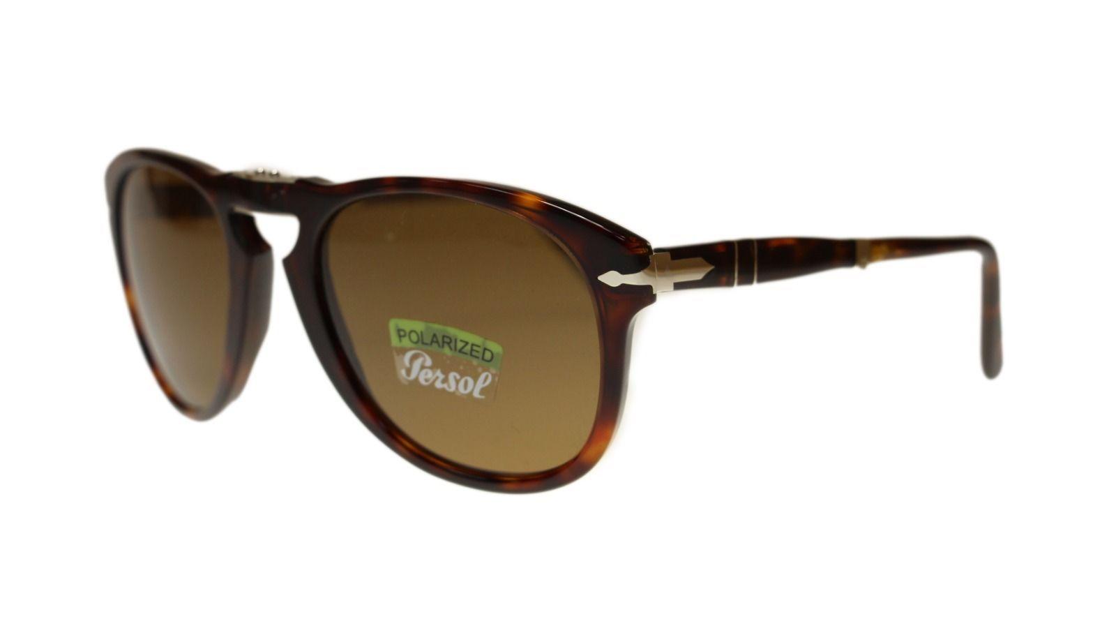 b50189c2b00 S l1600. S l1600. Previous. Persol Mens Sunglasses PO714 24 57 Havana Brown  Polarized Aviator 54mm Authentic. Persol Mens Sunglasses ...