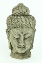 Small Buddha Head Ornamental Concrete Statue  - $29.00