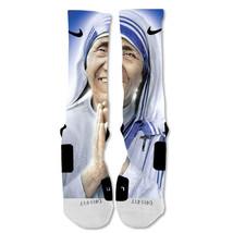 """Nike Elite socks custom Saint Mother Teresa """"Fast Shipping"""" - $24.99"""