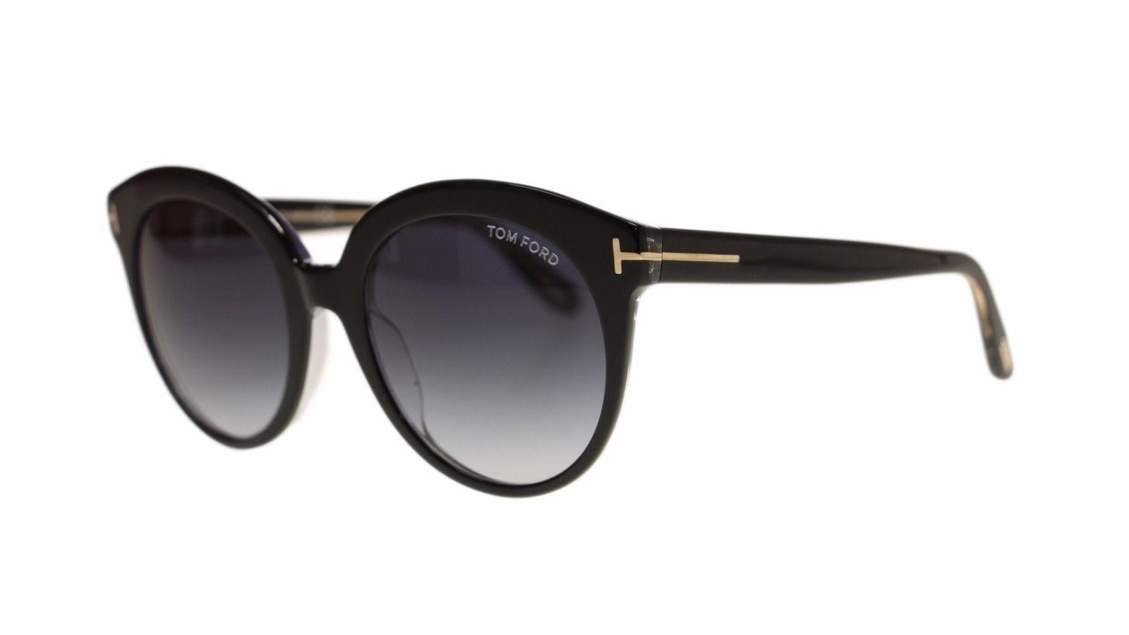 45e5e9d2bbaa2 S l1600. S l1600. Previous. Tom Ford Monica Women s Sunglasses FT0429 03W  Black Blue Gradient ...