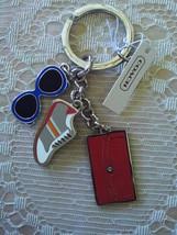NWT/COACH/SUMMER DAYS/KEY FOB/KEY CHAIN/KEY RING/BAG CHARM/F62509 - $25.00