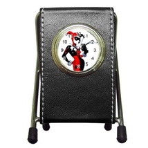 Batman Harley Quinn Joker Leather Pen Holder De... - $16.99