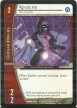 2005 Upper Deck DC Comics VS System #DBM009 Spoiler - $0.50