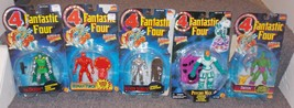 1990s Marvel Fantastic Four Lot of 5 Figures New In The Packages - $54.99