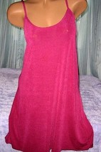 Stretch Heavy Nylon Nightgown Slip Chemise 1X 2X 3X Plus Size Plum Gown - $16.98