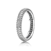 925 Sterling Silver Inspiration Within with Clear CZ Ring For Women QJCB630 - $23.88