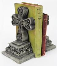Cross Concrete Bookends  - £39.25 GBP