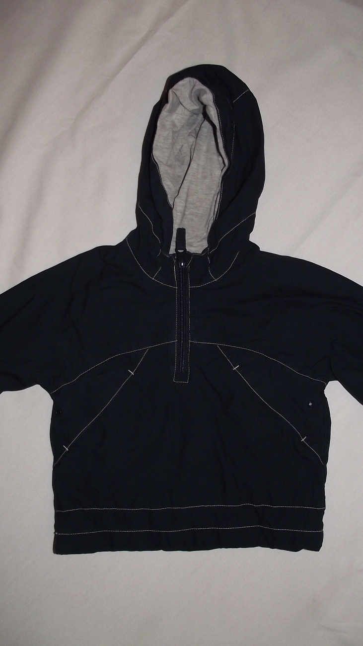 Jacket Hooded Pull over Old Navy toddler 2T