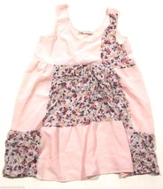 Urban Outfitters One & Only Pink Slip Dress Floral Patch Detail sz M - £21.58 GBP