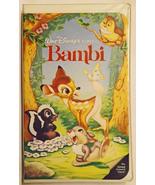 BLACK DIAMOND, Bambi Walt Disney's Classic #942 VHS Cassette Tape - $3,000.00