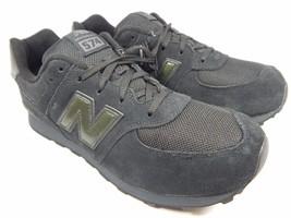 New Balance 574 Classic Men's Boy's Youth Shoes Sz 7 Y (M) EU 40 Black KL574TBG