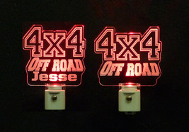 Personalized 4x4 Off Road LED Night Light - With or Without a Name - Vehicle - $23.50