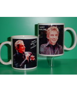 Barry Manilow 2 Photo Designer Collectible Mug - $14.95
