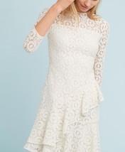 Anthropologie  Shoshanna Asymmetrical Ruffle Dress $398 Sz 6 - NWT - $161.49