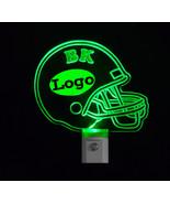 Personalized Kits Football Helmet LED Night Light with Logo, Lamp, night... - $23.50