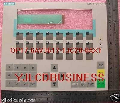 Primary image for NEW Siemens OP17 6AV3617-1JC30-0AX1 Membrane Keypad 6AV3617-1JC20-​​0AX1