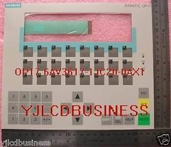 NEW Siemens OP17 6AV3617-1JC30-0AX1 Membrane Keypad 6AV3617-1JC20-0AX1 - $47.50