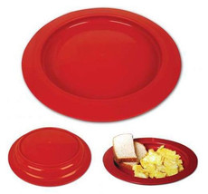 Inner-Lip Plate - Red - Sold Individually - #745310004 - $9.93