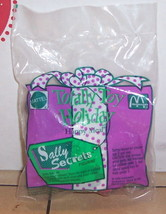 1993 McDonalds Totally Toy Holiday - Sally Secret Happy Meal Toy MIP - $5.00