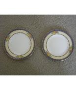 Two Allerton dessert plates, Old English Bone China - $25.00