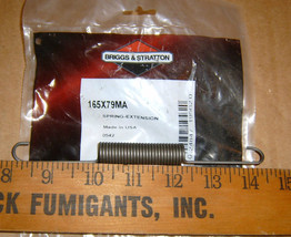Murray extension spring pt # 165X79MA  *NEW*OD - $7.99