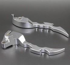 Pair Chrome Brake Clutch Lever Hand Control Handlebar For Suzuki Bouleva... - $36.62