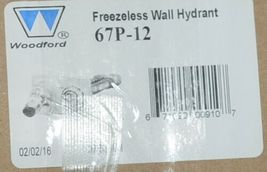 Woodford Freezeless Backflow Preventer Wall Hydrant Chrome 67P-12 image 9