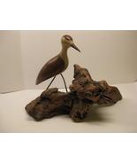 Beautiful Folk Art Hand Carved Wood Bird By Artist Jack Francis - Signed - $195.00