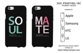 Matching Couple Phone Cases iPhone 4 5 5C 6 6P, Galaxy S3 S4 S5, LG G3, HTC M8 - $19.99