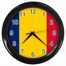 Chad Flag Wall Clock - $18.61
