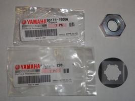 Front Sprocket Nut Lock Washer OEM Yamaha Banshee YFZ350 YFZ 350  - $14.95