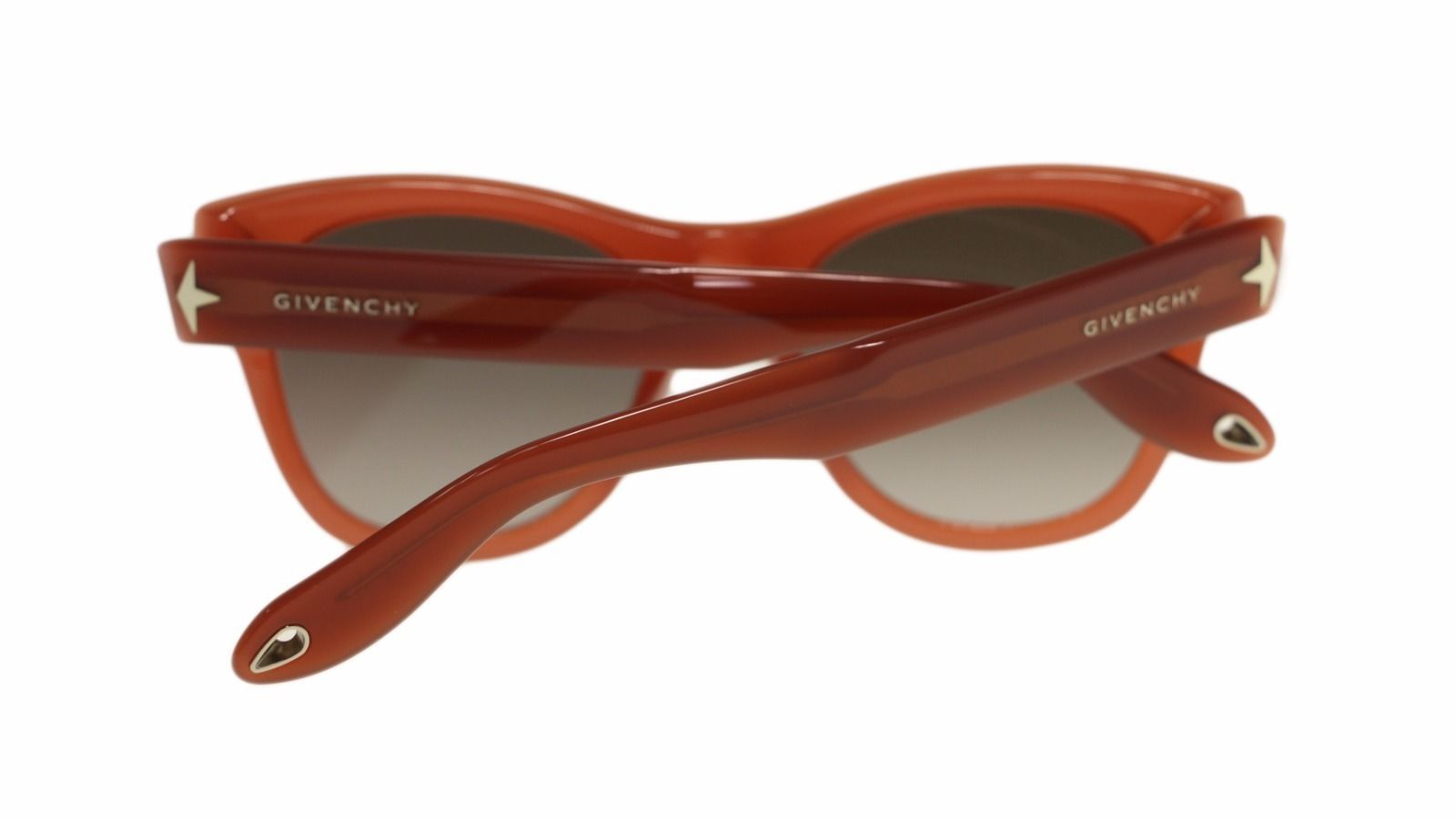 Givenchy Womens Sunglasses GV7010 GGX Opal Powder/Brown Gradient Lens Round 51mm