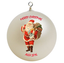 Personalized Santa Claus Christmas Ornament Gift - $16.95