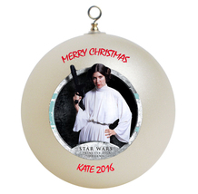 Personalized Star Wars Princess Leia Christmas Ornament Gift - $24.95