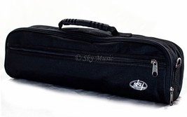 New High Quality C Flute Hard Case Cover w Side Pocket/Handle/Strap Blac... - $14.95