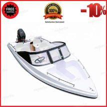 Electric Speed Boat Yacht Fiberglass Luxury Ship Water Equipment Customi... - $6,167.70+