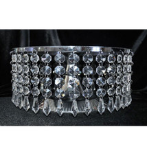 36pcs Acrylic Crystal Garland Decor Hanging Wedding Party Decoration Centerpiece - $12.12