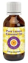 Pure Lemon Essential Oil (Citrus Limonum) 100% Natural - Therapeutic Grade  - $4.86+