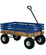 AMISH HEAVY DUTY WAGON 40x22 Bed Solid Quality Cart * 4 Color Choices * ... - $389.91
