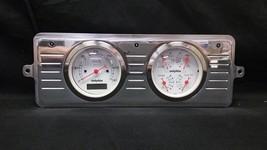 1939 CHEVY CAR QUAD GAUGE CLUSTER METRIC - $289.50