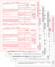 IRS Approved 1099-DIV 4-part Tax Form - $16.00+