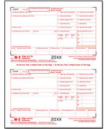 IRS Approved W-2 Federal Copy A Tax Form - $14.50+