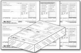 IRS Approved W-2, 5-part Tax Form - $37.00+