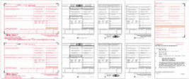 IRS Approved W-2, 6-part Laser Set Tax Form - $28.50+