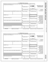 IRS Approved 1099-DIV Copy B Tax Form - $14.50+